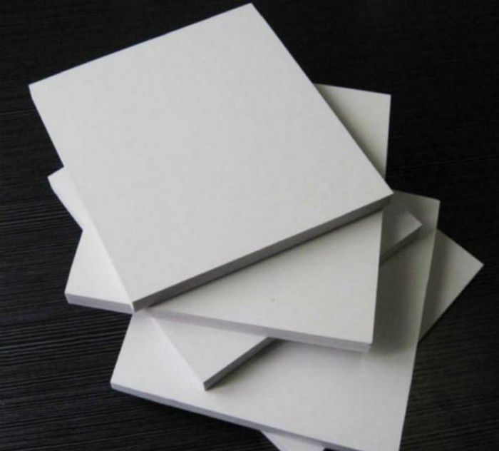 Rectangle White Sintra PVC Foam Board , 5mm Moisture Proof Foam Insulation Board