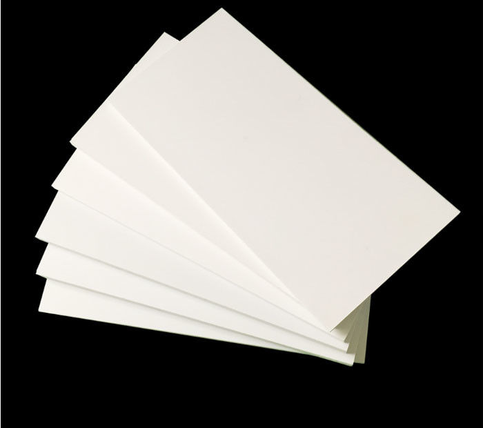 High Density White 19mm Sintra PVC Forex Sheet For Upholstery