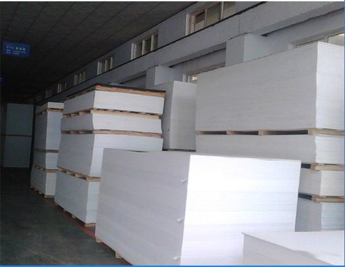 Customized Color Cutting PVC Sheet Corrosive Resistance For Furniture